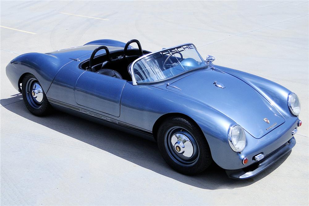 1955 PORSCHE SPYDER RE-CREATION | Porsche, Barrett jackson, Porsche 550