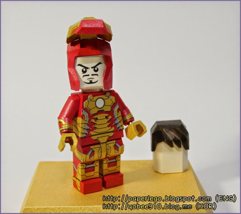 Worksheet. YOBEES LEGO MINIFIGURE PAPER CRAFT Complete and Making Lego