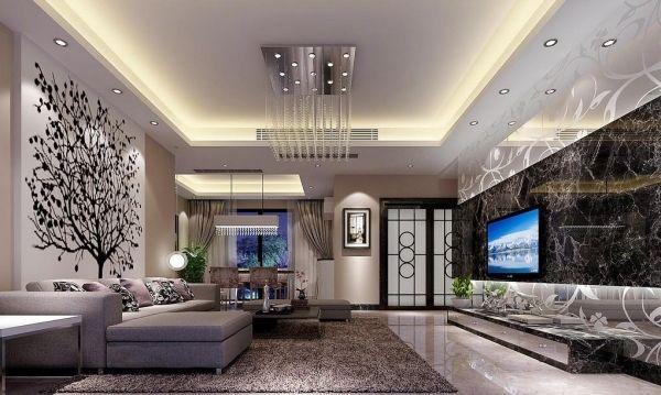 Wohnzimmer Decken gestalten \u2013 Der Raum in neuem Licht Pinterest