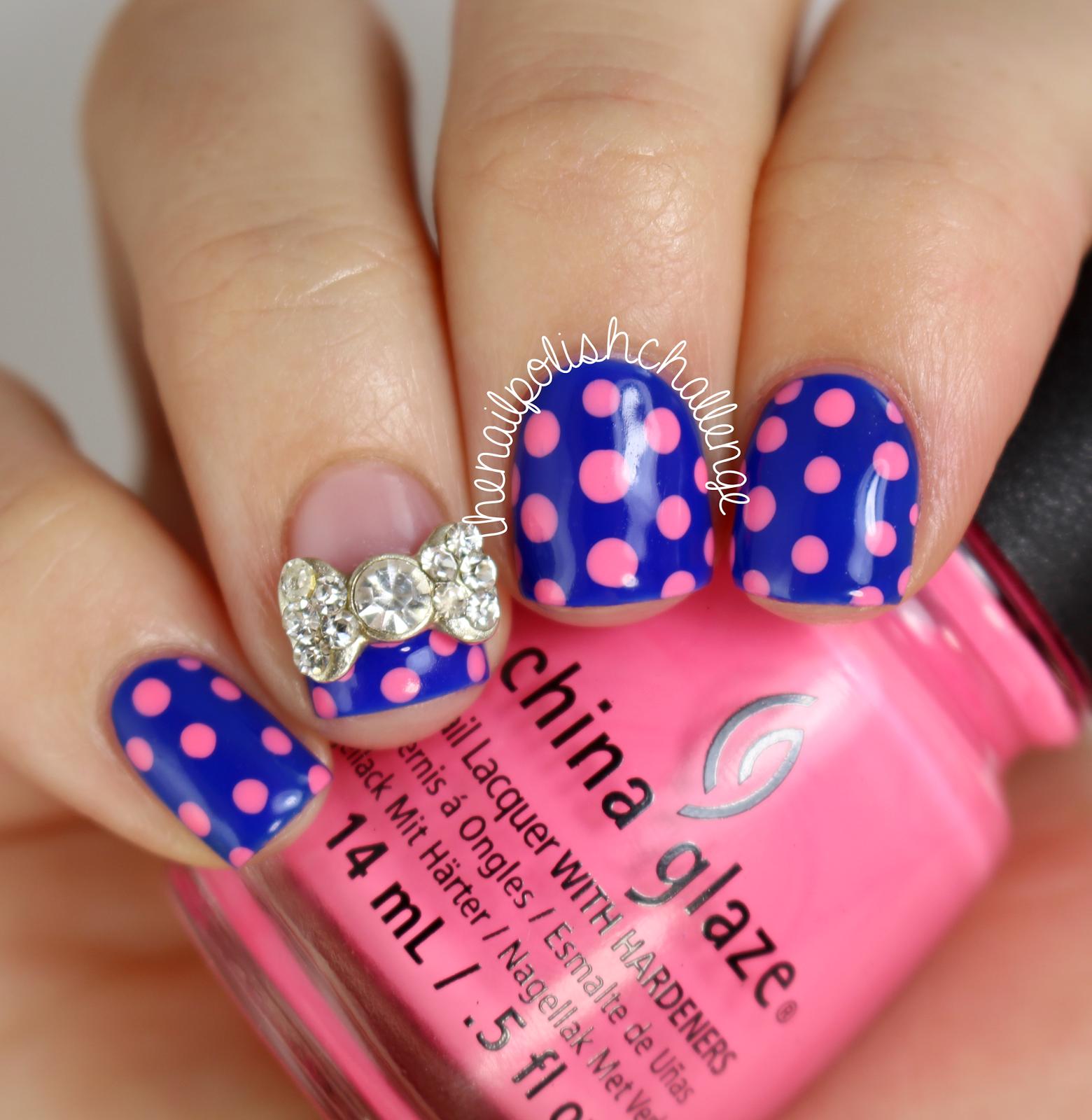 Contemporary Cute Polka Dot Nail Designs Gift - Nail Art Design ...