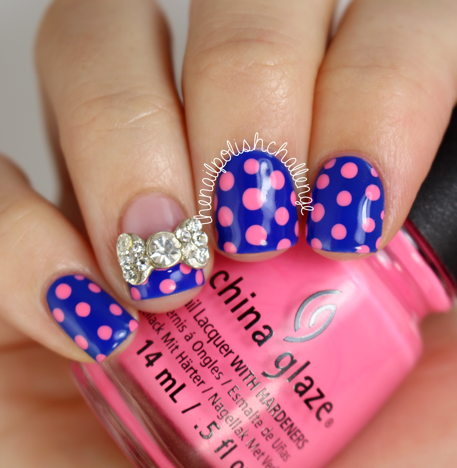 the nail polish challenge | Nails art | Pinterest | Dot nail art ...