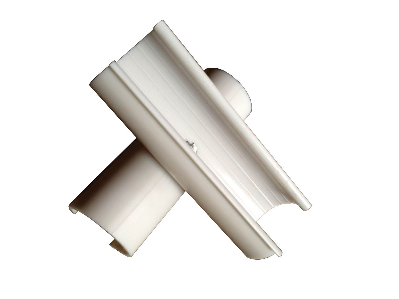 greenhouse tube clamps pack of 4 for 1//2 furniture grade PVC pipe