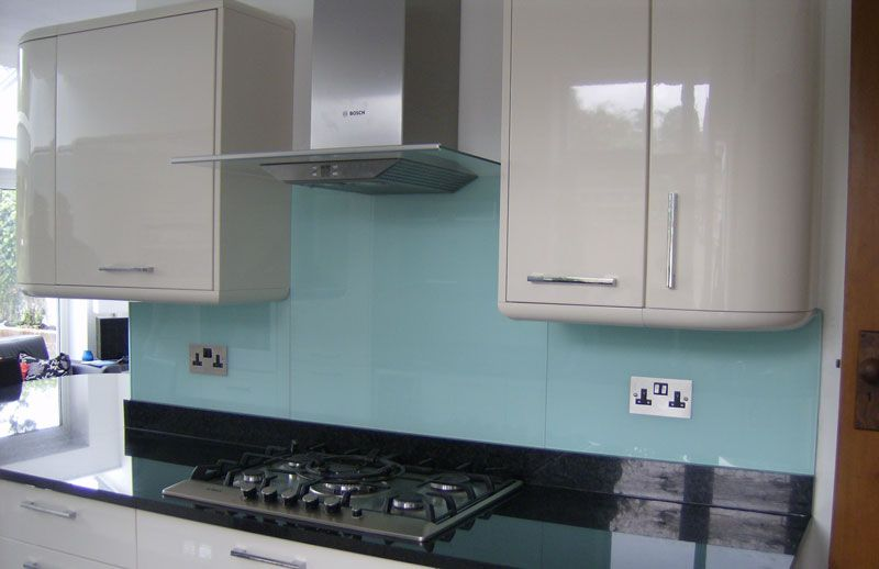Clear Glass Splash Back Google Search Kitchens