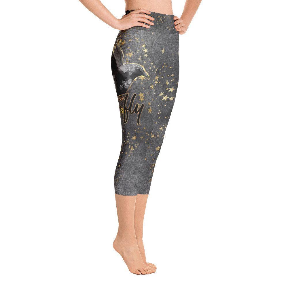 2e4c27034f519 Yoga Capris, Yoga Leggings, Yoga Pants, Capri Leggings, Stretch Fabric, The