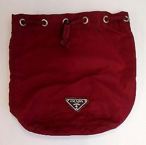 1b3f3c821daf XQ 19 Prada Drawstring Pouch Nylon Bordeaux Women's Bag Pouch / Vanity Prada  #fashion #clothing #shoes #accessories #womensbagshandbags (ebay link)
