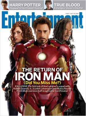 This week's cover: 'Iron Man 2' with exclusive photos