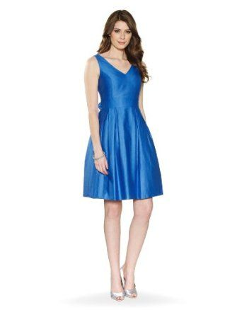 Amazon.com: Monsoon Womens Fredrica prom dress Size 10 Blue ...