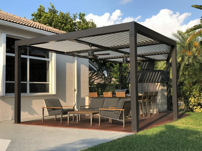 Struxure Louvered Roofs In 2020 Outdoor Shade Outdoor Heating Pergola