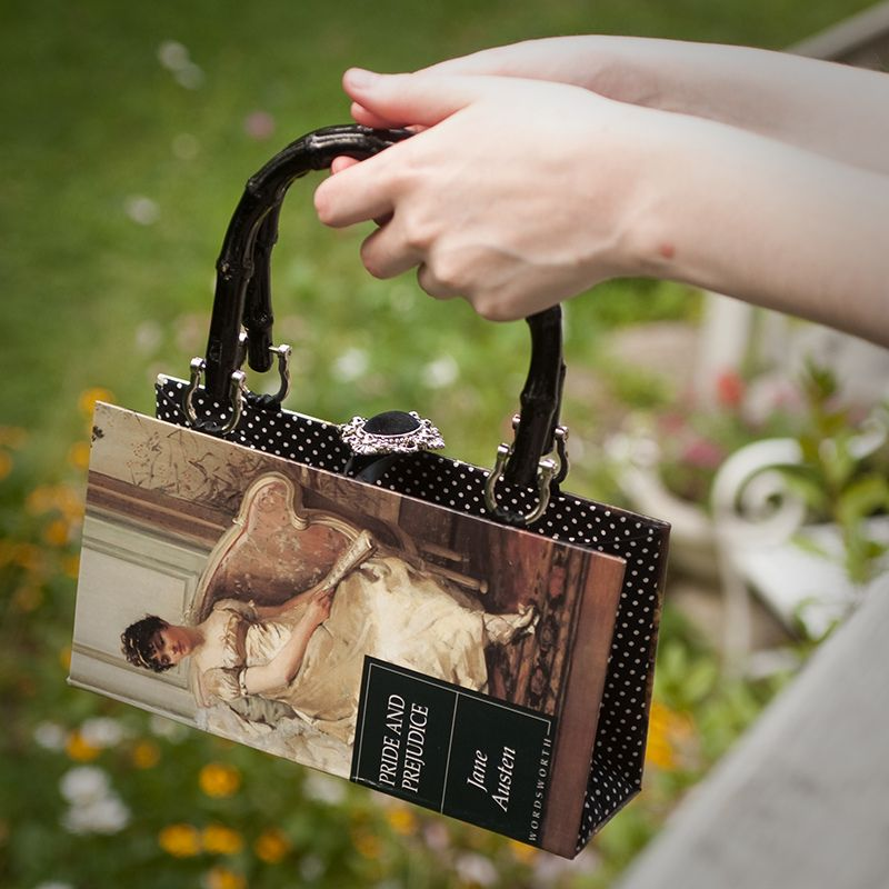 Pride Prejudice Handbag Need A Bookish Purse With Changeable Covers That Look Like Book