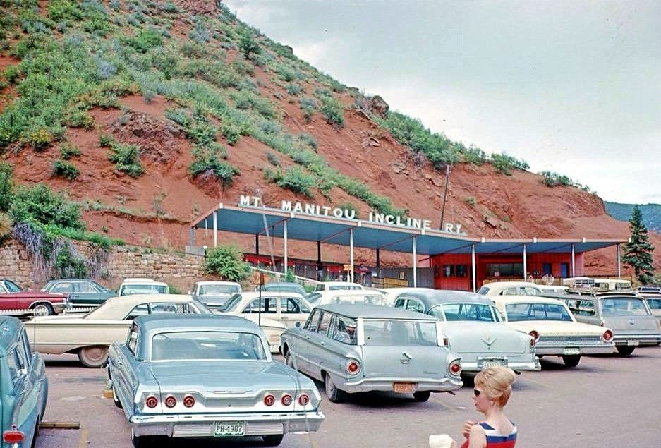 Manitou Springs, Colorado, 1964 #manitousprings