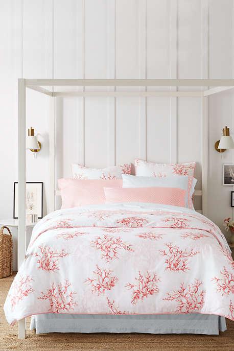 Lands End Coral Sea Duvet Cover Bed Sets For Sale Bedding Sets