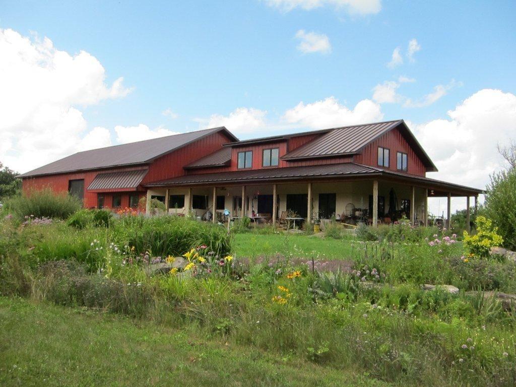 Minnesota Residence By Wick Buidlings See Wickbuildings Com Pole Barn Homes Barn Style House Barn House Plans