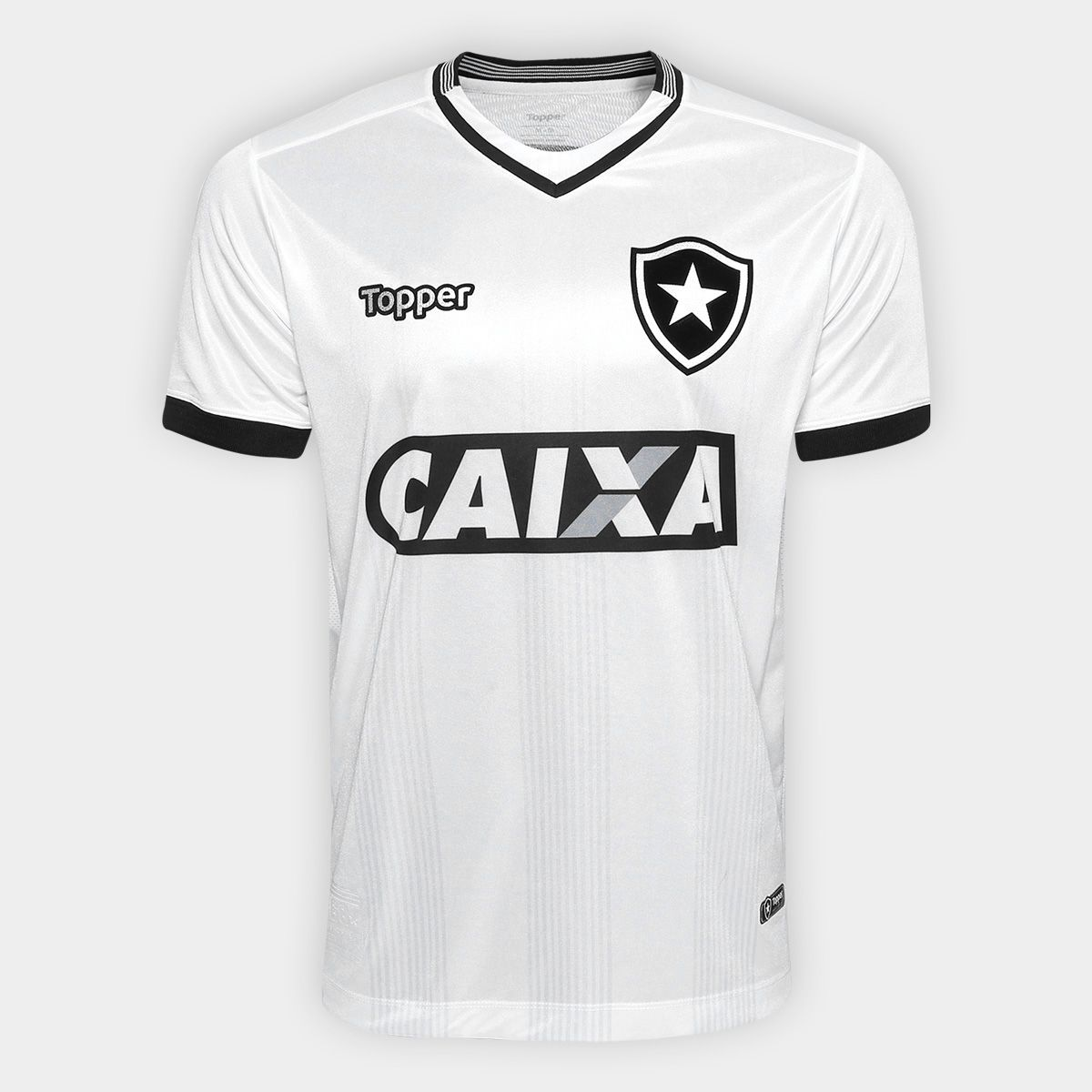 50d0c1bcd3 A Camisa Botafogo III 2018 s n° Torcedor Topper Masculina veste o torcedor  do
