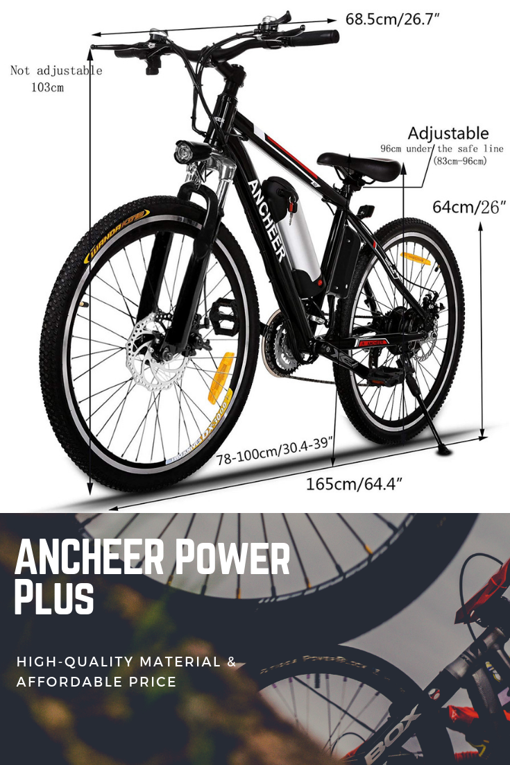 Best Cheap Electric Bikes Affordable E Bikes 2019 >> Ancheer Electric Bike Is A Leading Icon Of E Bikes For Years