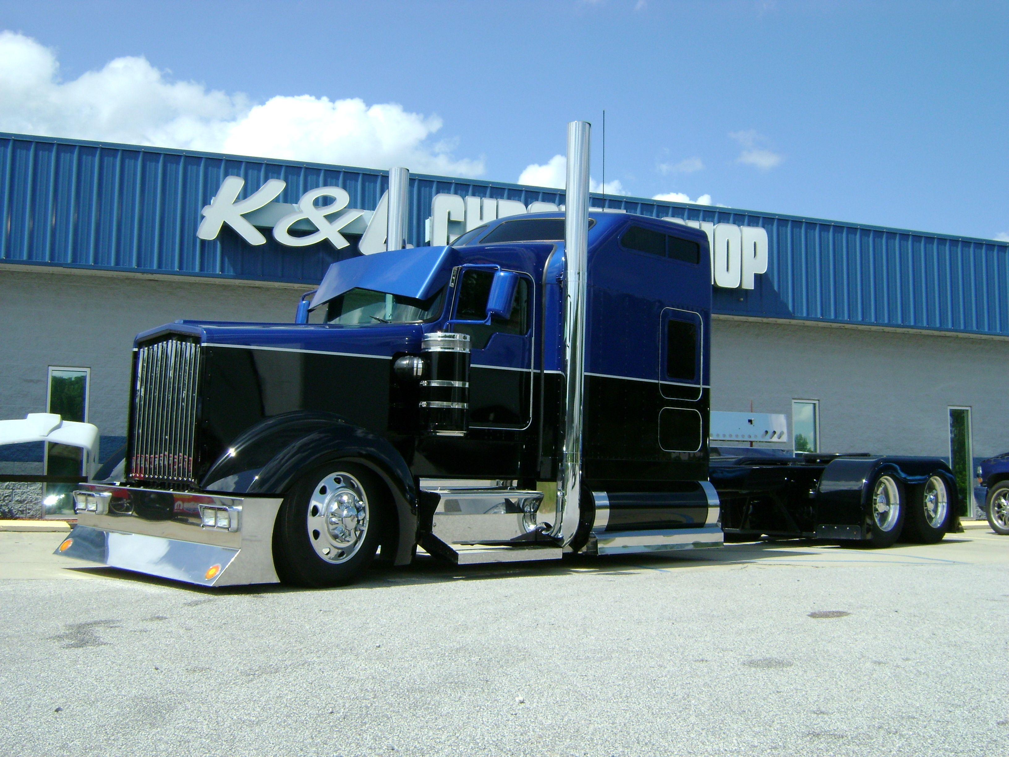 kenworth w900 схема