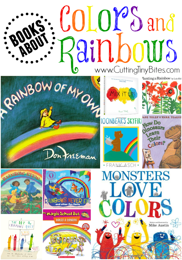 books about colors and rainbows - Preschool Books About Colors