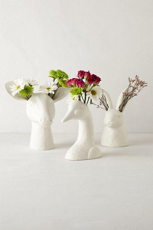 Themeforthought Alternative Centrepieces Flower Vases Cholet