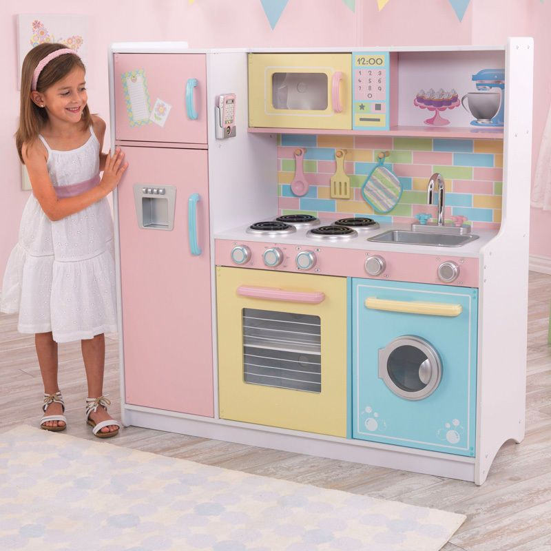 Beautifull Kidcraft Kitchen For Your Daughter Home Design Ideas Kitchen Playsets Childrens Play Kitchen Kitchen Sets For Kids