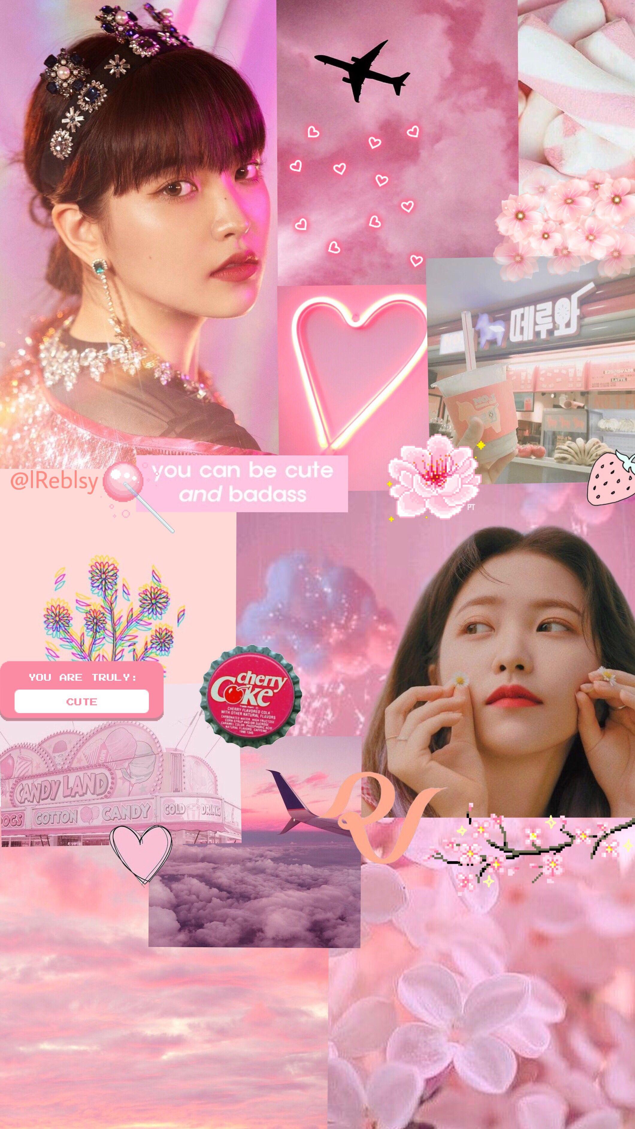 Yeri Pink Wallpaper Pink Wallpaper Wallpaper Red Velvet