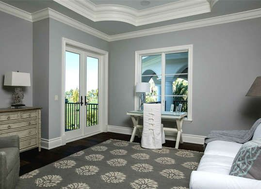 Gray Neutrals Are Great Choice For Relaxing Room This Is Sherwin Williams Cityscape Grey Paint