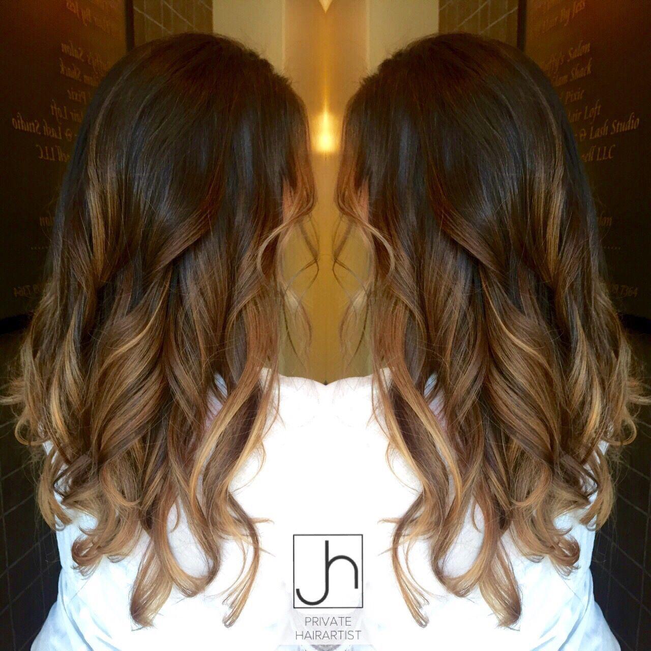 Brunette Balayage @hairartistjess