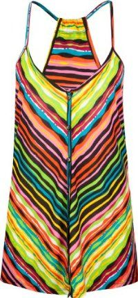 FULL TILT Stripe Button Front Womens Tank