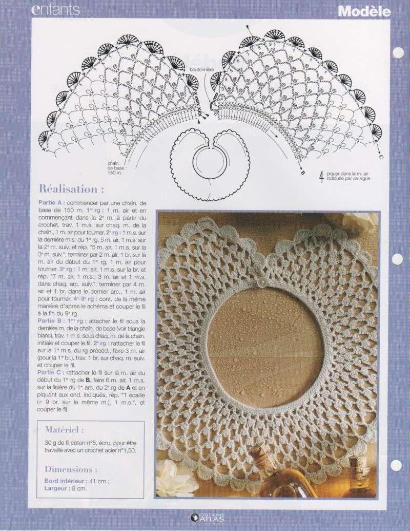 diy crochet peter pan collar | Collar crochet | Pinterest | Tejido ...