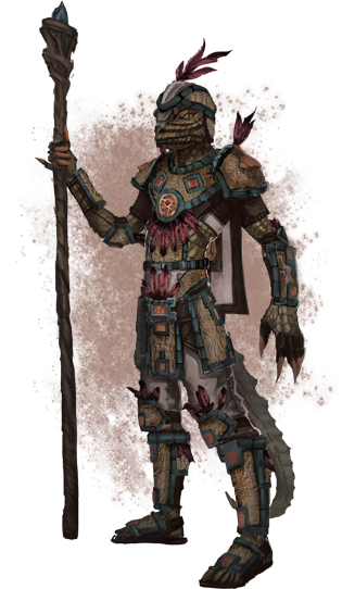 Argonian_light_armor Elder Scrolls Skyrim Image