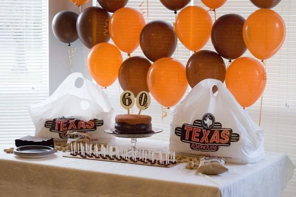 60th Birthday Color Ideas: Dad's 60th Birthday Party { 60 Memories