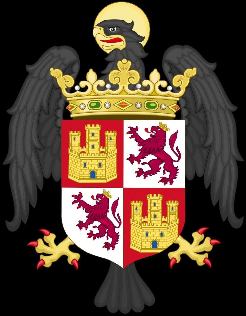 Isabel De Castilla Princesa De Asturias Coat Of Arms Holy Cross Heraldry
