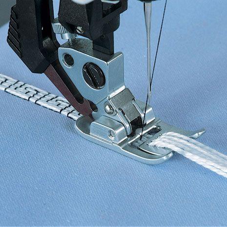 7/9 LOCHFUSS FÜR IDT™-SYSTEM #embroideryfloss