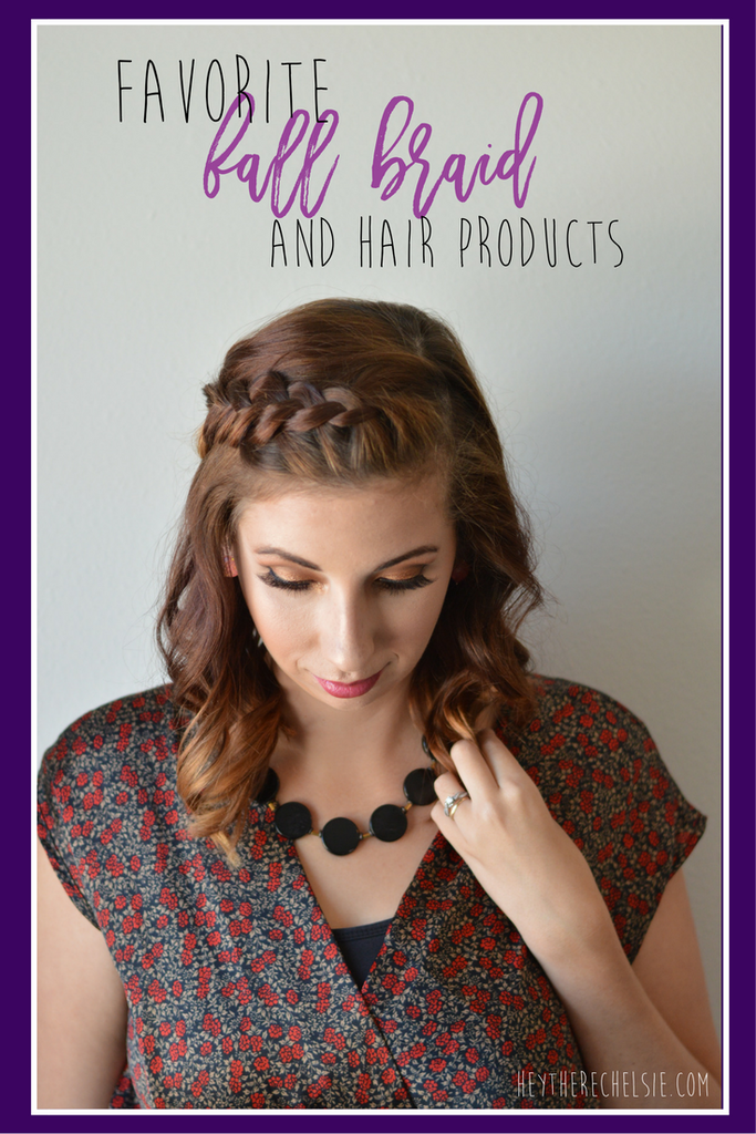 Favorite Fall Braid and hair products. Looking for an affordable hair care reginime to keep your hair moisturized during the dry fall and winter? Reviewing an amazingly affordable line on the blog and sharing how to get this amazing braided style with a tutorial  @SuaveBeauty @Walmart // Hey There, Chelsie #ad #suavebeliever #pmedia #pmgsuave