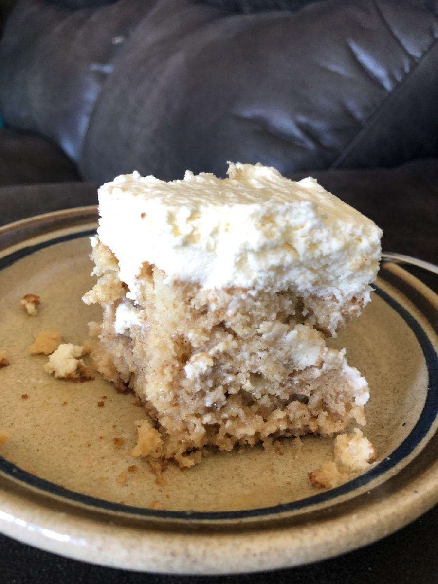 Cinnamon Roll Poke Cake – Mom Fueling Hungry Boys