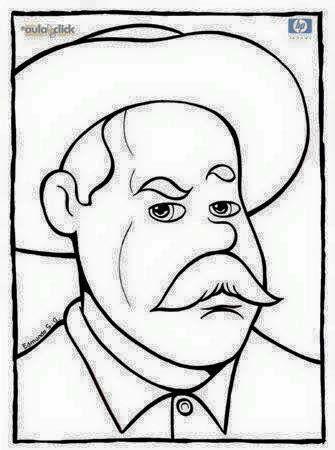 Pin De Duritzy Nallely En School Revolucion Mexicana Para Colorear Pancho Villa Circo Para Colorear