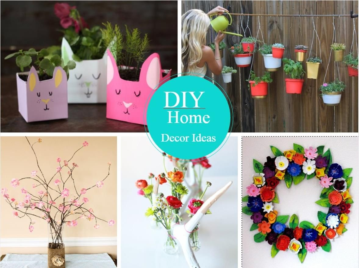 36 Beautiful And Easy Diy Home Decorating Ideas Decorewarding Cheap Diy Home Decor Diy Crafts For Home Decor Diy Decor Crafts
