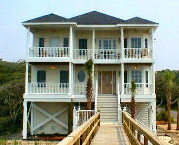 Coastal home plans oceanside home love pinterest for Oceanside house plans