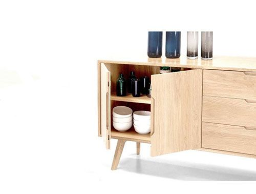 Enfilade scandinave  15 modèles pour une salle à manger au look vintage - modele de salle a manger design