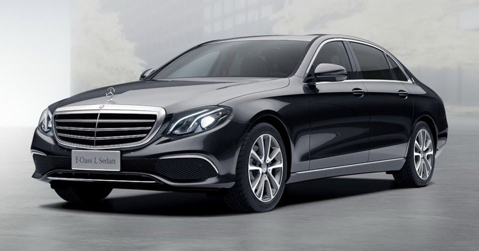 New Mercedes-Benz E-Class L Costs $66,000 In China | Mercedes benz ...