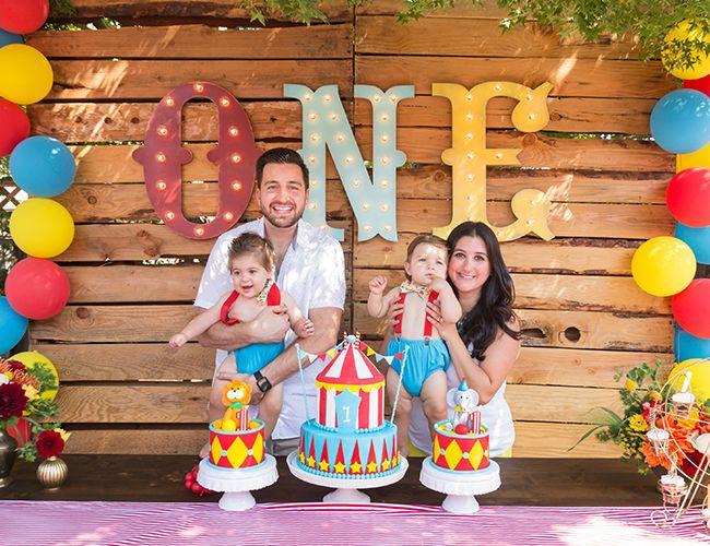 Animal Circus First Birthday Party Inspired By This Fiesta De Cumpleanos De Circo Fiesta De Circo Decoracion Circo