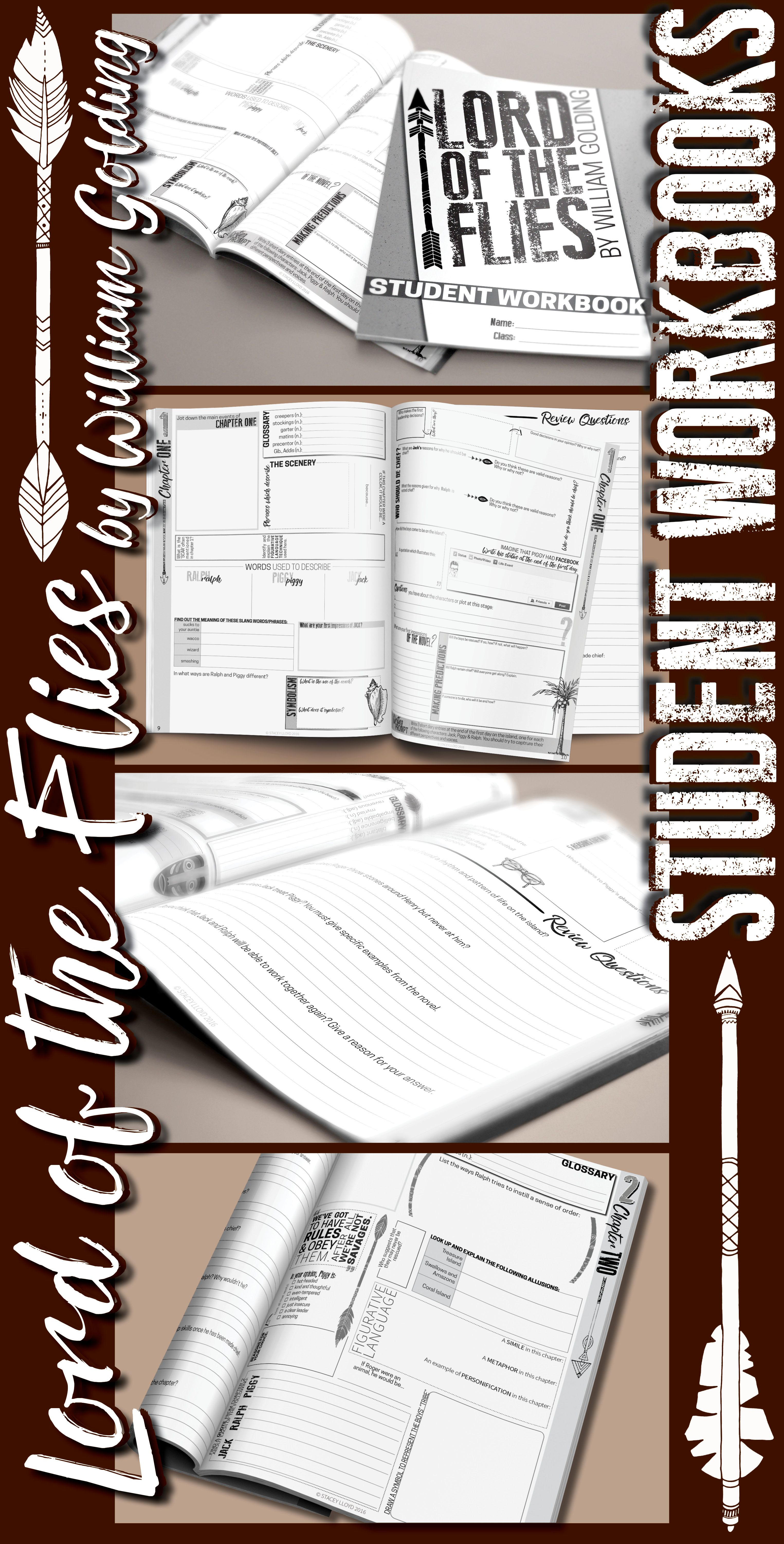 Lord Of The Flies Student Workbooks