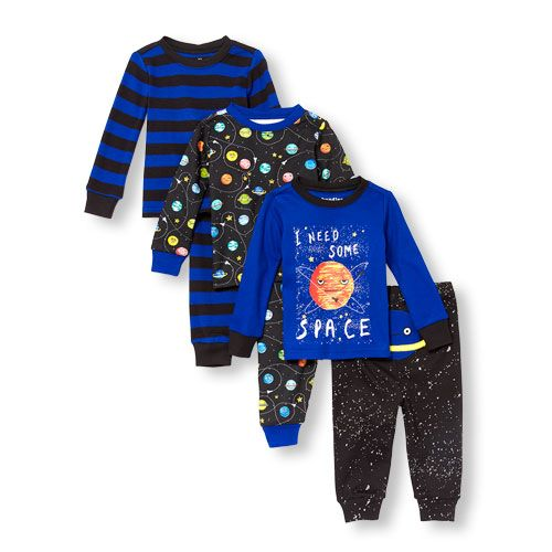 addc09cf603c Baby And Toddler Boys Long Sleeve Glow-In-The-Dark  I Need Some ...