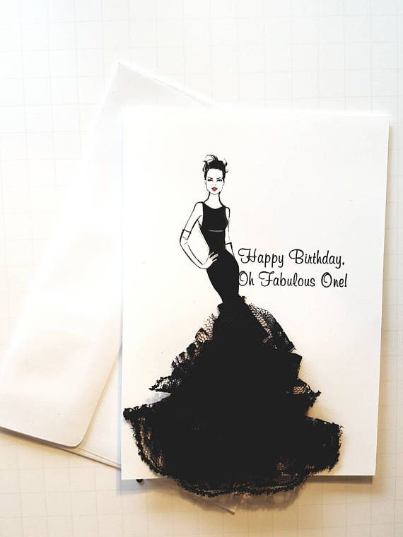 Birthday Card For Her Fabulous Birthday Card Fashion
