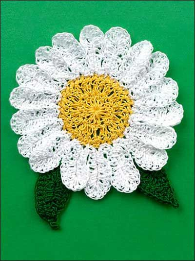 Daisy Coaster Crochet Doily Placemat Coasters Pinterest