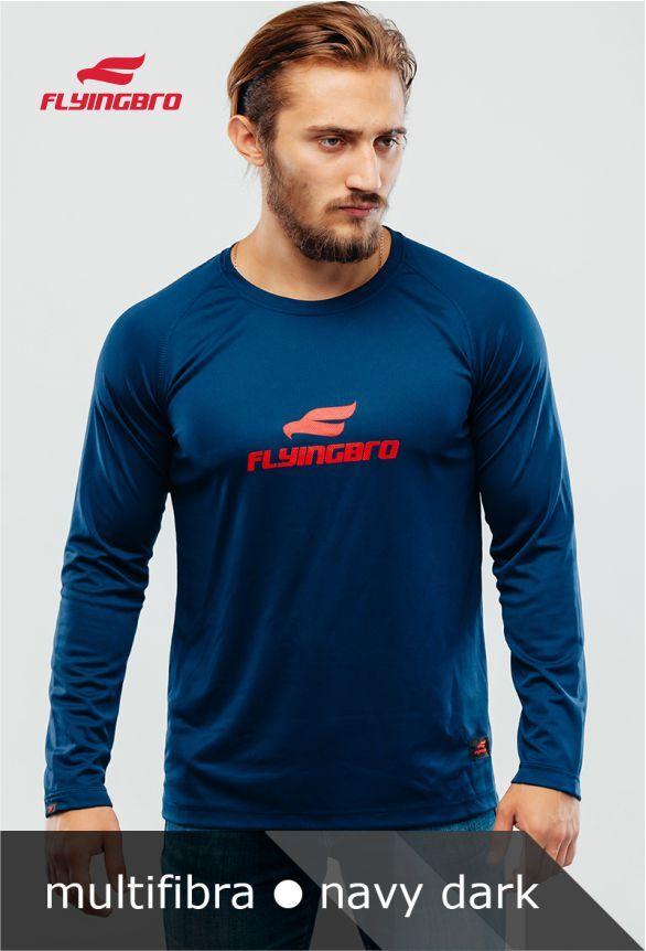 фото спортивной мужской модной футболки Flyingbro