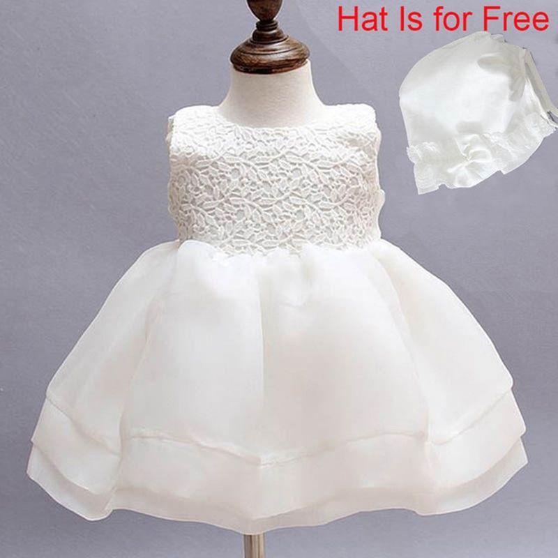 Newborn Dresses For Baby Girls Christening Gowns Kids Baptism Dress ...