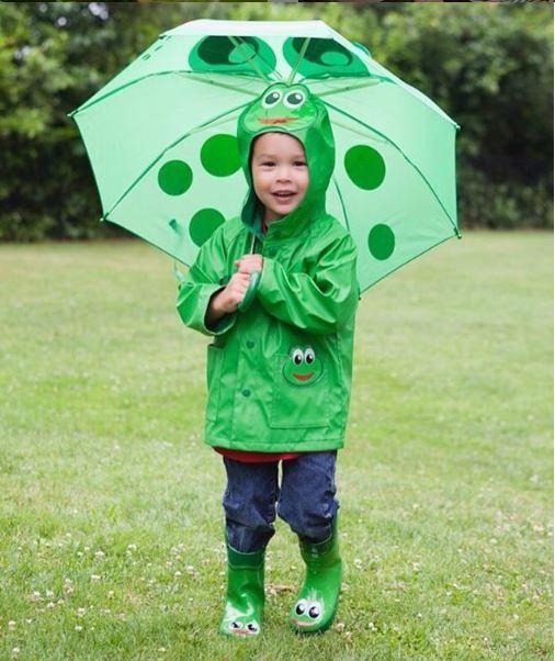 695cb9506 Kids Frog Rain Boots - Green