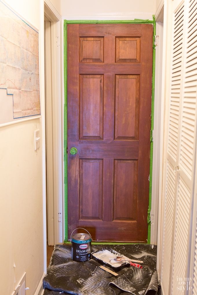 Perfect Bold Paint Color Choices To Choose As A Weekend Decorating Project · Black  WorkInterior DoorsDoor ...