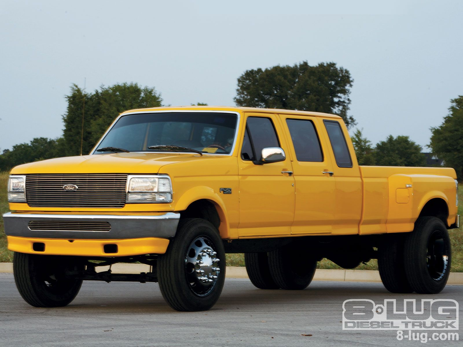 1997 ford f 350 xlt custom 4 door ext cab dually 7 3l powerstroke