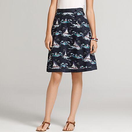 Sail Away Printed Skirt - Tommy Hilfiger