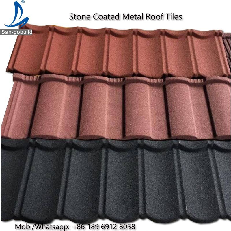 High Quality Bond Classic Shingle Stone Coated Roofing Sheet Roof Tiles